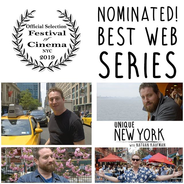 We've got that #fridayfeeling because we've been nominated for Best Web Series at @festivalofcinemanyc! We're honored to be recognized amongst such a fantastic lineup, you should definitely join us for this incredible festival! . . . #filmfestival #festivalofcinemanyc #webseries #nomination #centralpark #nyc #madeinnyc #fridaymood #fridayvibes #tgif