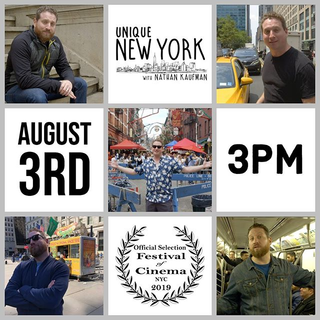 "Join us this Saturday at the @festivalofcinemanyc where we are nominated for Best Web Series! We'll be screening our episode ""Before Central Park"" and then Nathan and the UNYWNK team will be taking part in a Q&A. Ticket link in bio! . . #filmfestival #screening #festivalofcinemanyc #webseries #nominated #centralpark #nyc #madeinnyc #webseries2019 #nychistory @centralparknyc @centralpark_ny"