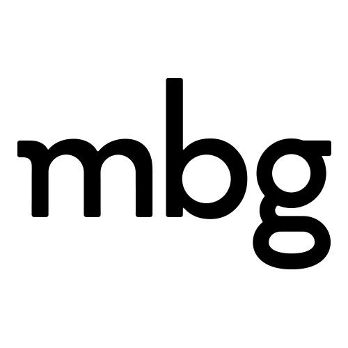 mbg logo - client of Jill Wichner