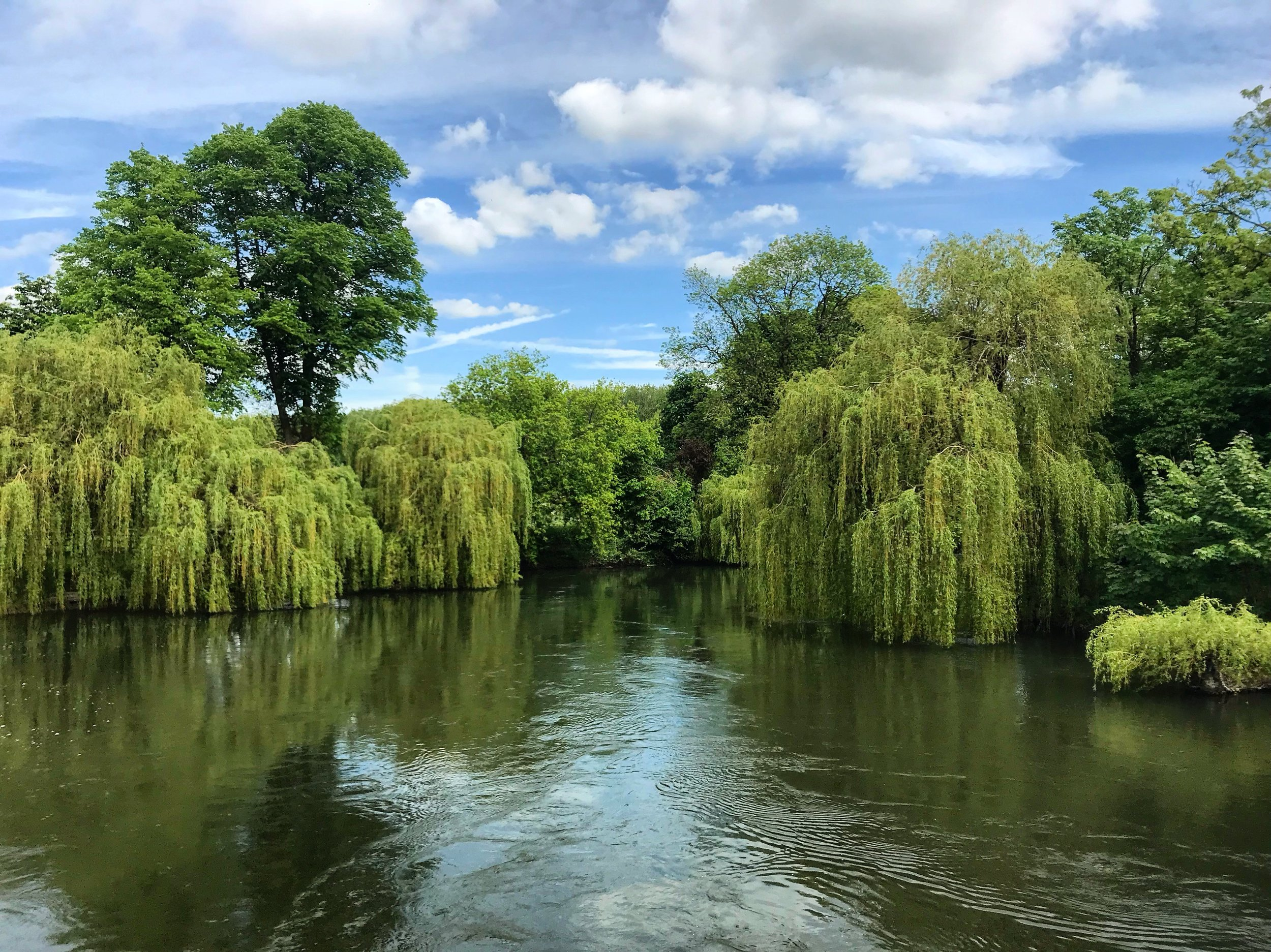 The Thames at Sonning, Berkshire, United Kingdom