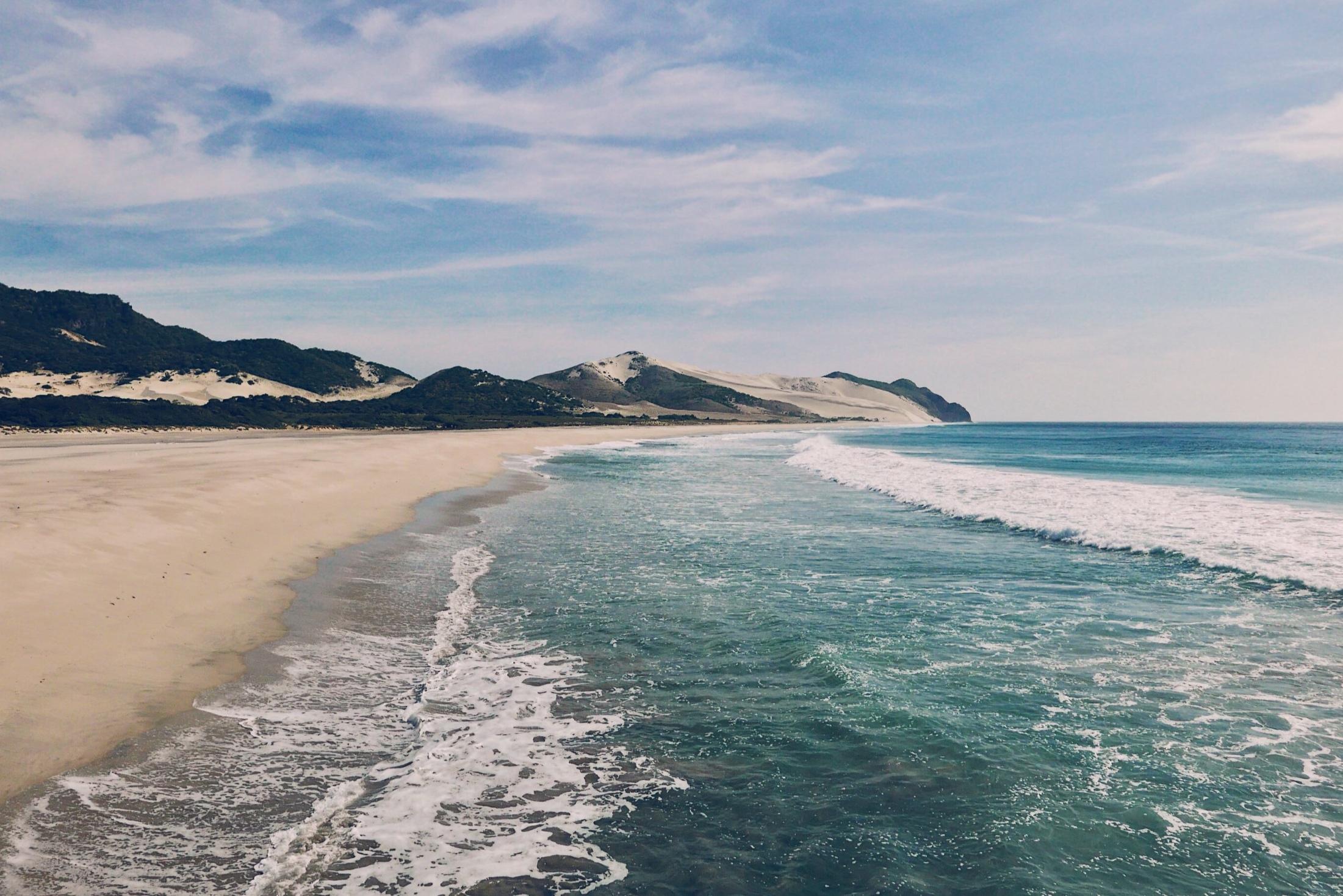 Playa Bamba: A deserted surfers paradise