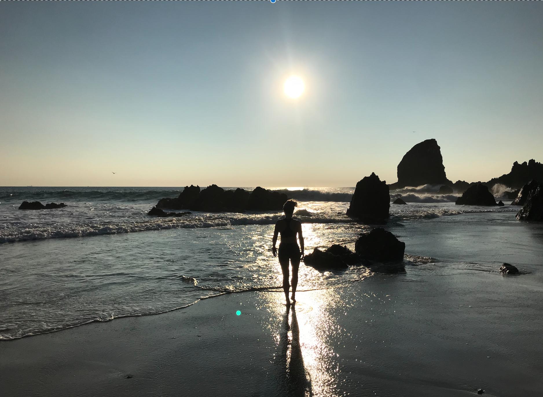 Playa Azul: Empty beaches & morning beach runs