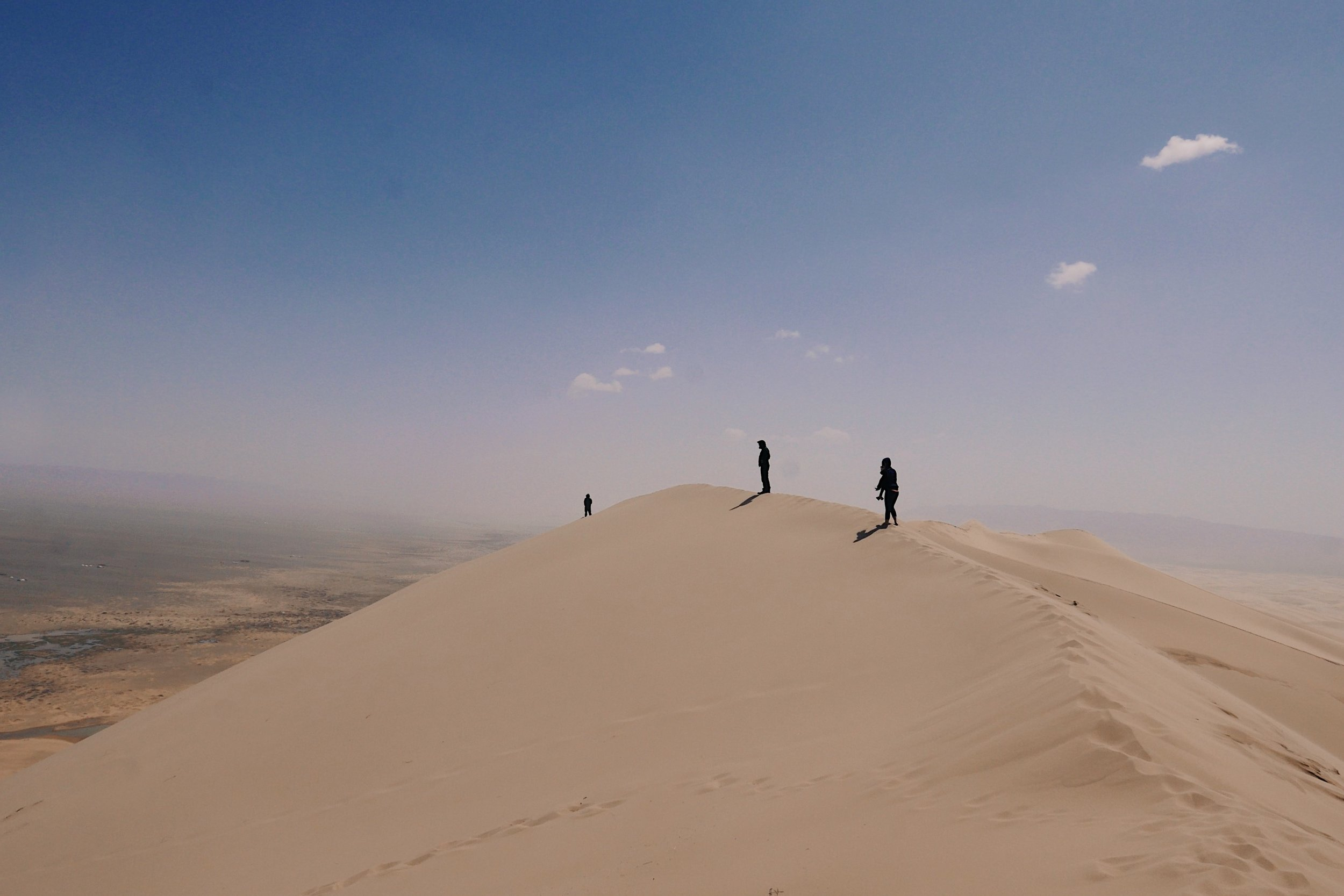 The Singing Dunes, Gobi Desert