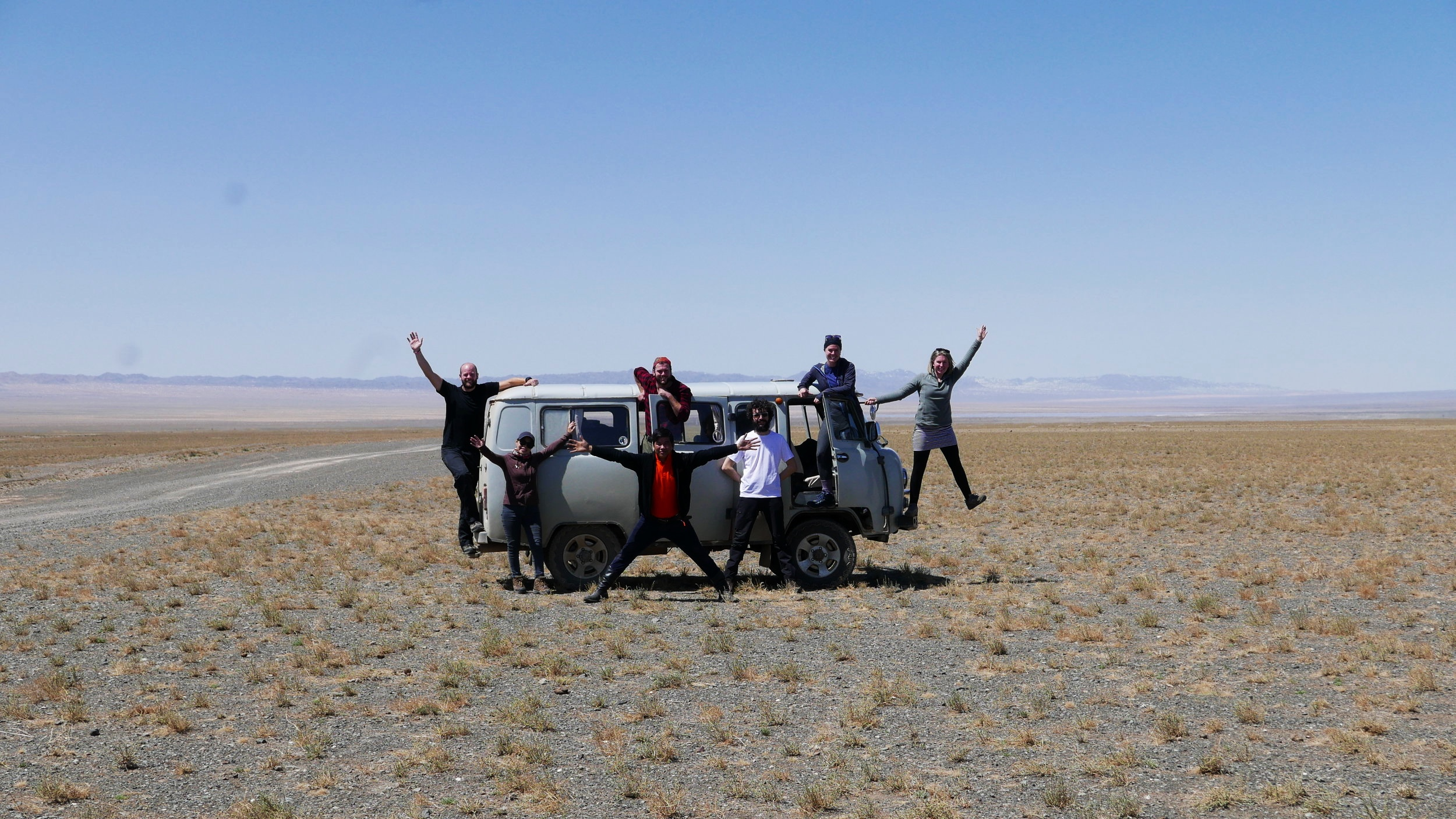 With out lovely group & guides from Golden Gobi… in the Gobi