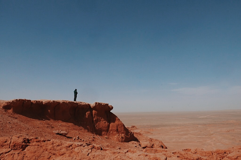 Flaming Cliffs, Gobi Desert
