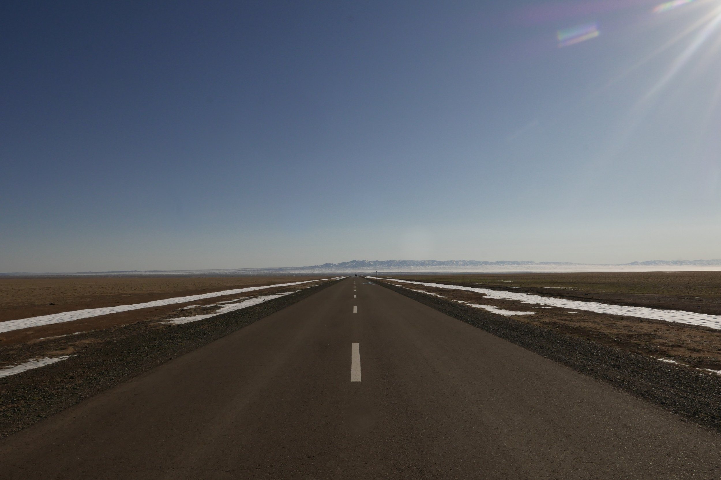 The Road South, Middle Gobi