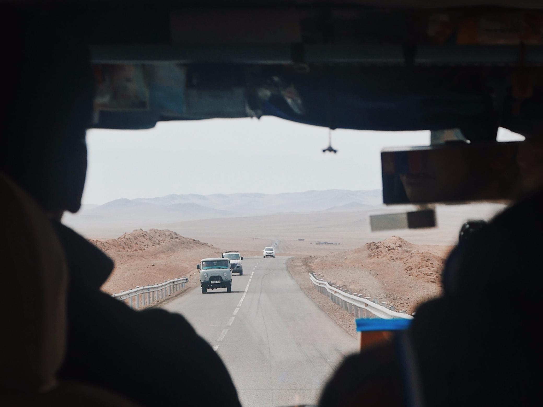 Heading south in the Gobi