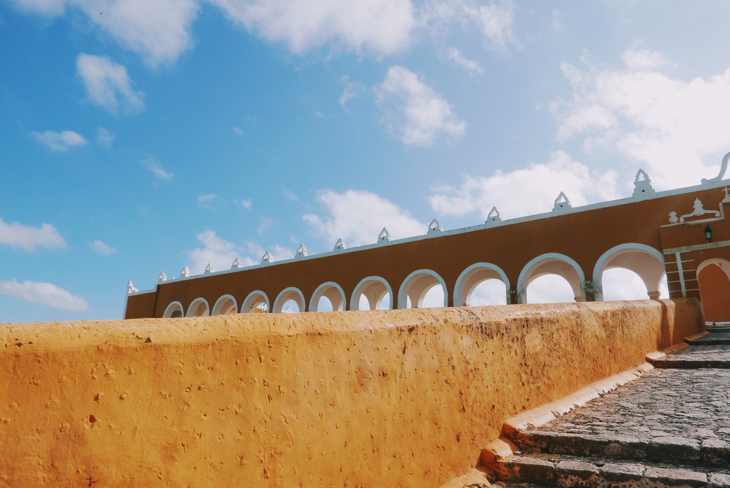 The very yellow town of Izamal