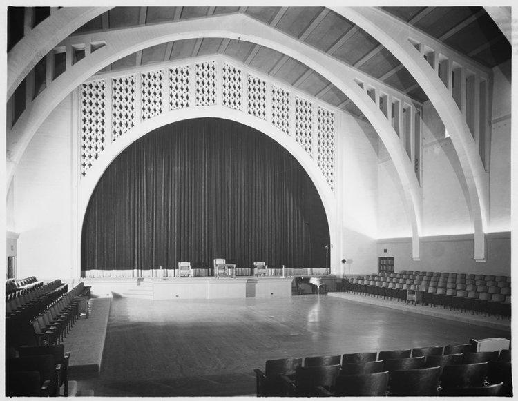Post 43 Auditorium in 1929