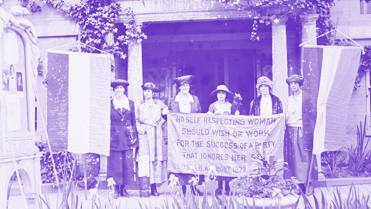 Women's Fight for the Right to Vote -