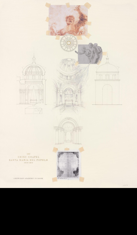 Chigi Chapel - Conception