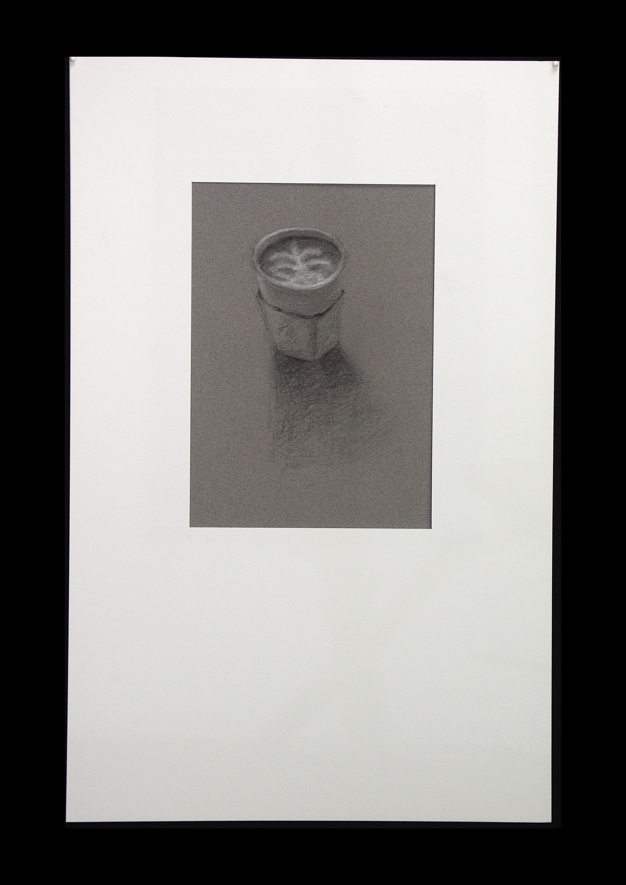 "Aurora II   Charcoal on paper  7½"" x 10"""