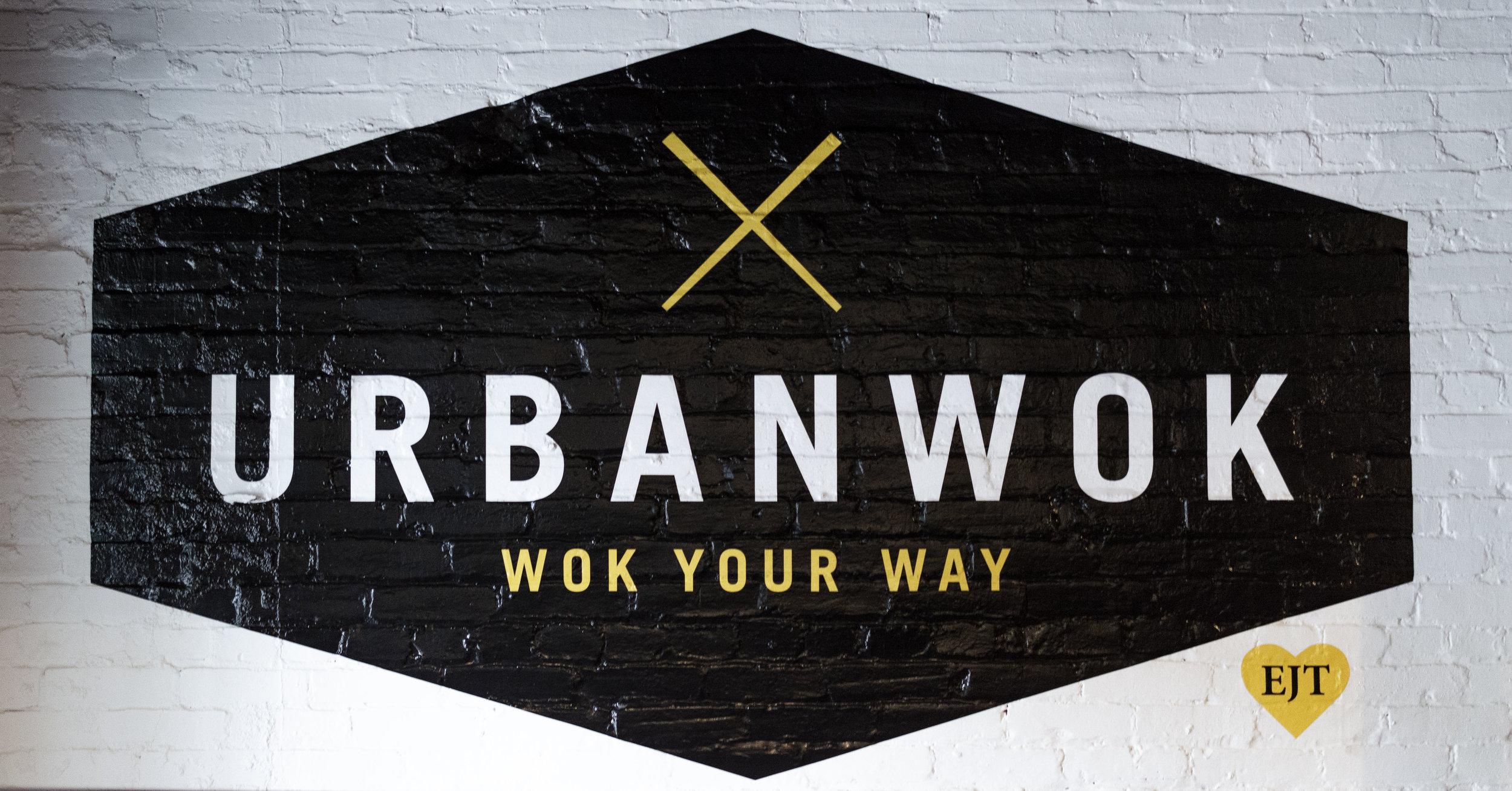Urban Wok Artwork Lowertown St. Paul