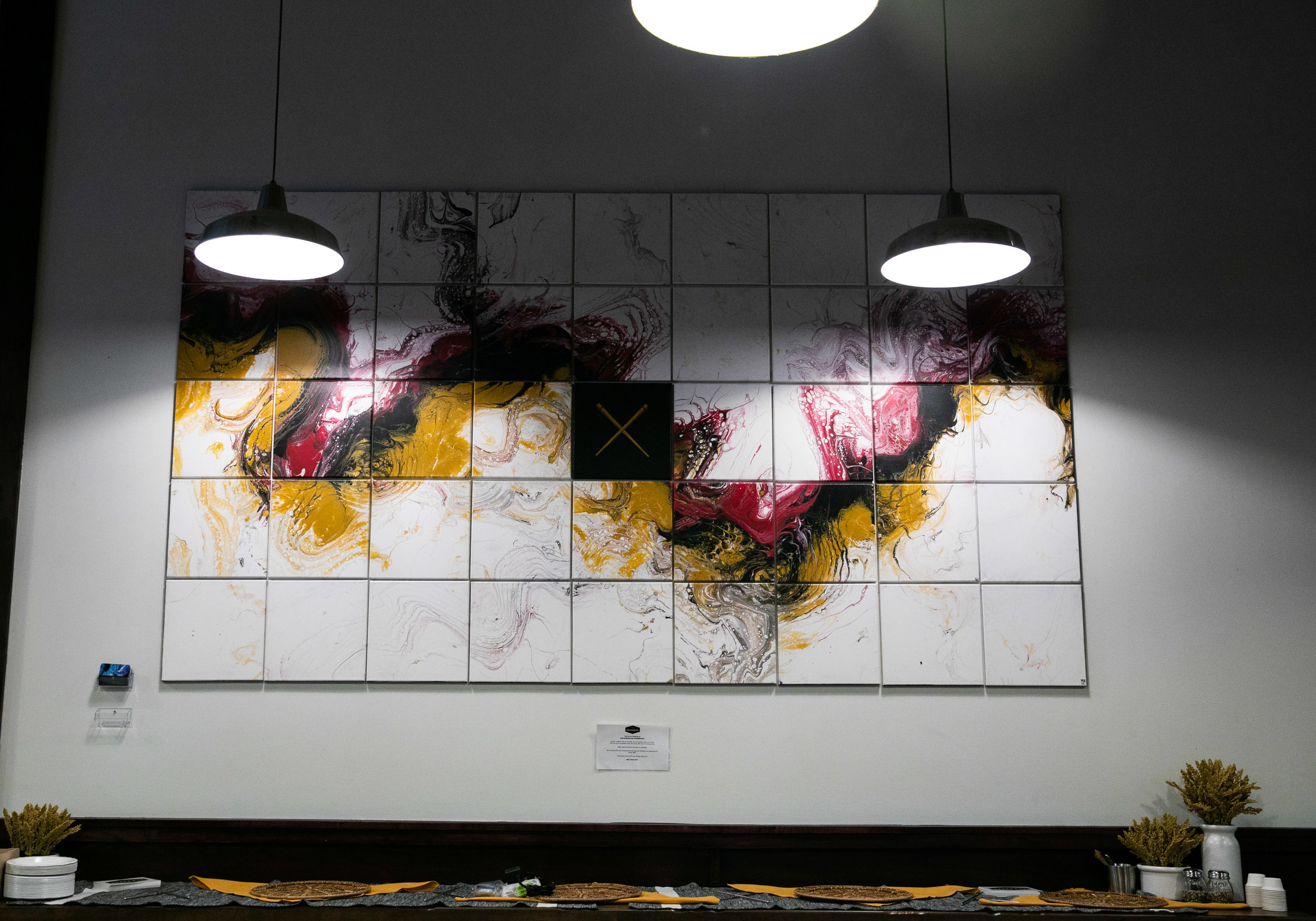 Urban Wok Custom Artwork in Lowertown