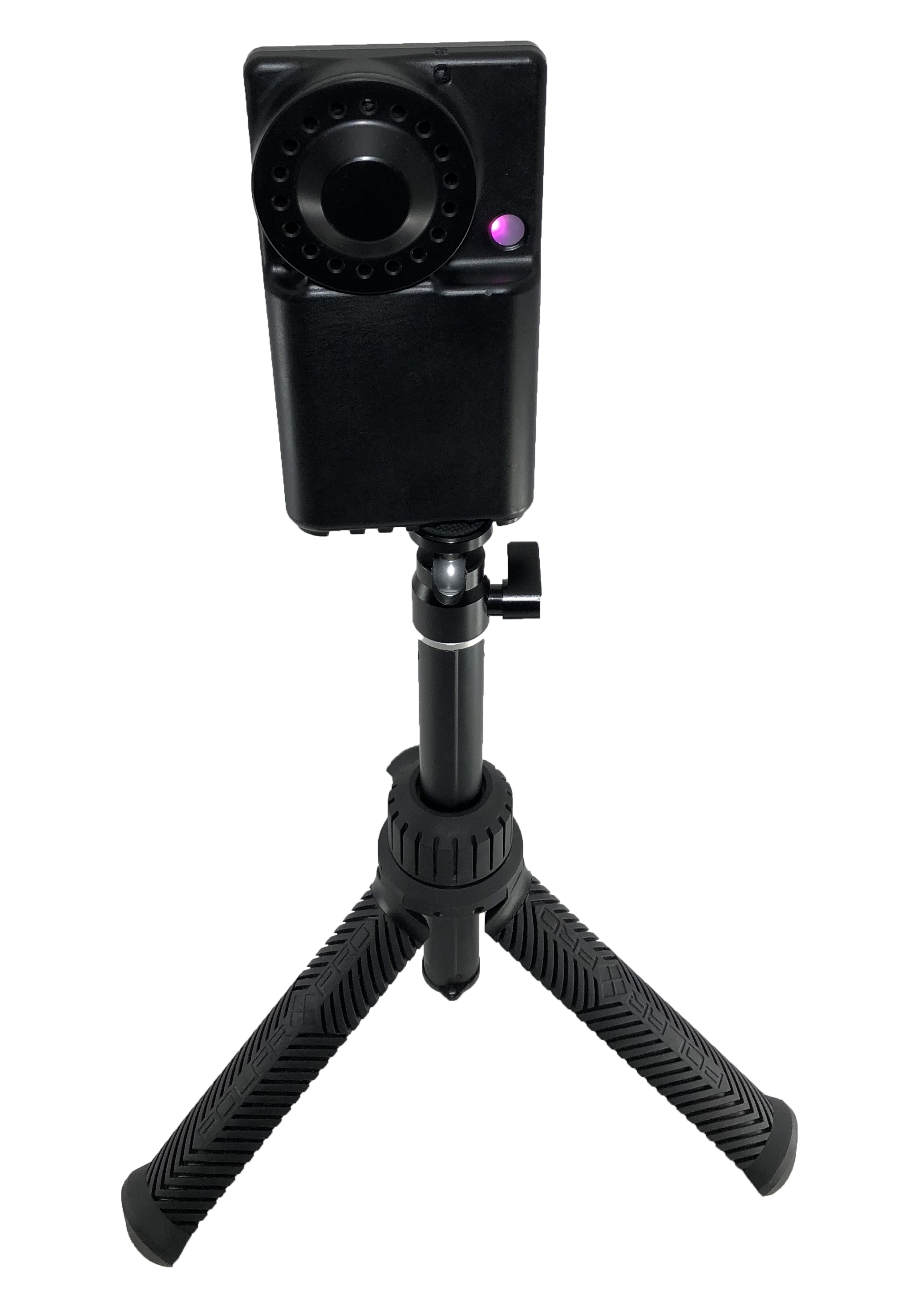 AST the ultrasonic personal air sampler can be mounted on a tripod for stationary air sampling in a fixed location.png
