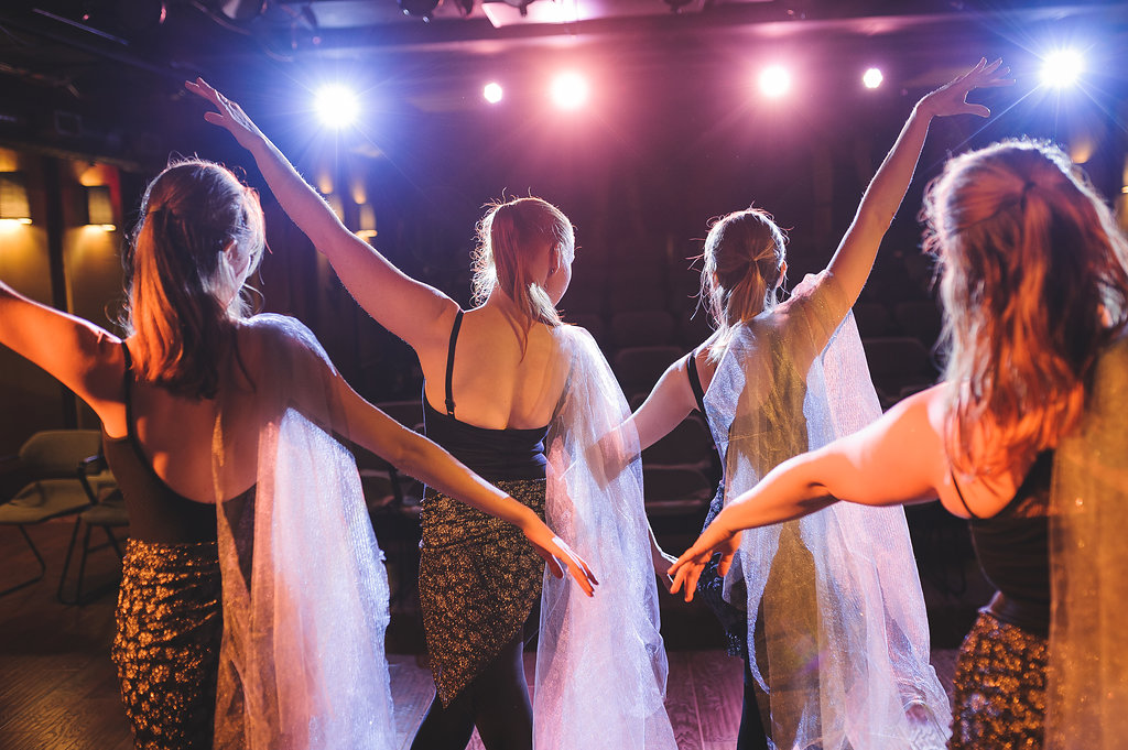 """""""The Place from Which We Rise"""", choreography by Annalise Hummerlund Dancers (right to left): Melissa Anderson, Sarah, Bethel, Rachel Cotter, and Annalise Hummerland Photography: John Clay Photography"""