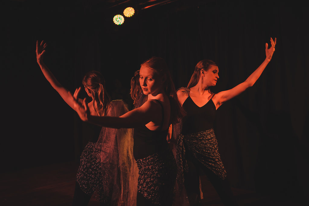 """The Place from Which We Rise,""  Choreographed by: Annalise Hammerlund Dancers Above: Annalise Hummerlund, Melissa Anderson, Rachel Cotter, and Sarah Bethel Photography: Forrest Page Photography"
