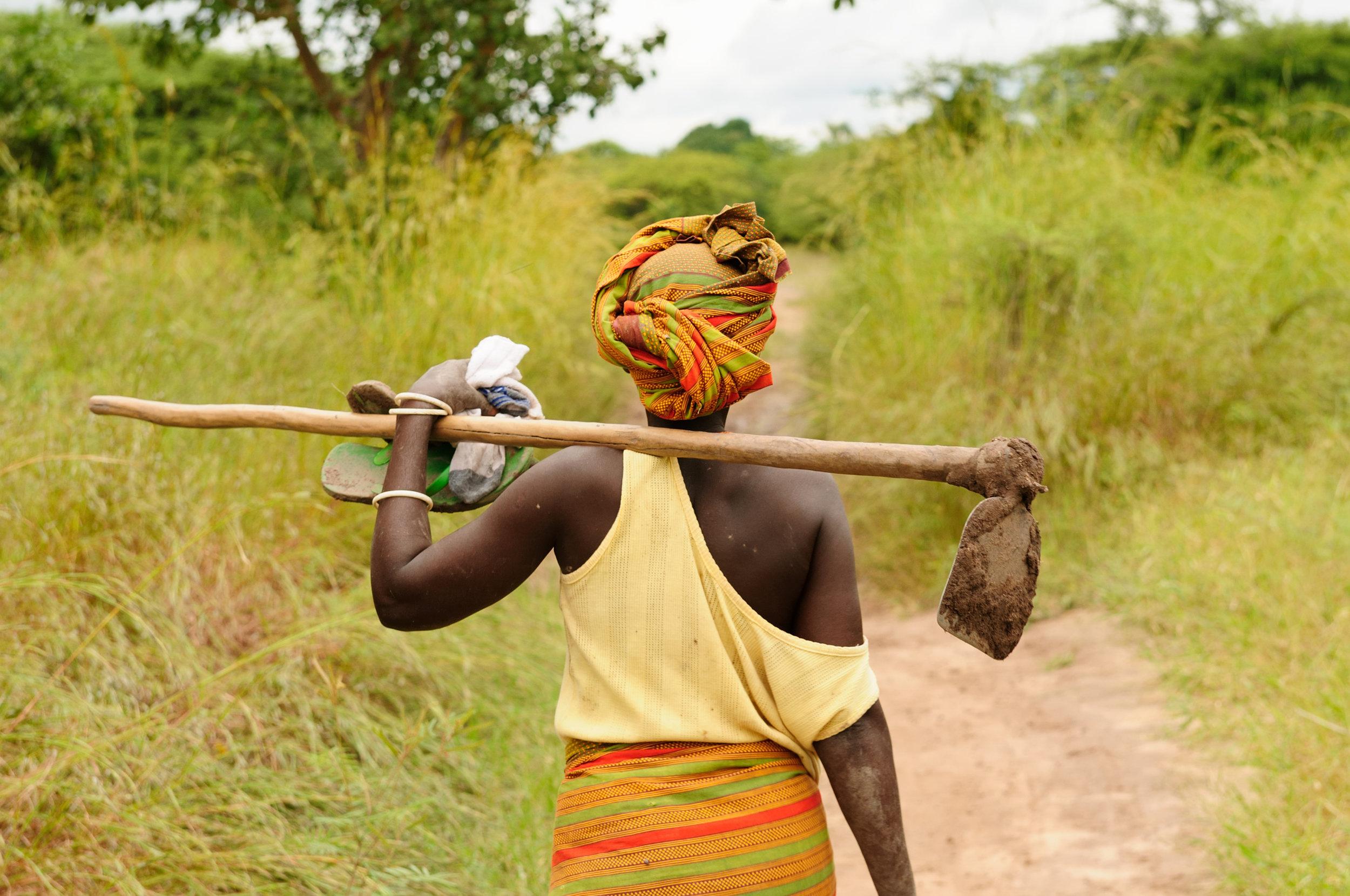 Angola-woman-farmer-field-walking-Africa-Roots-of-Peace-ROP.jpg
