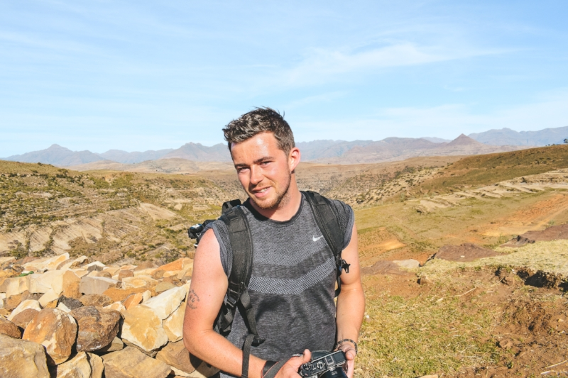The hike to the Bushman's paintings was a tough one!