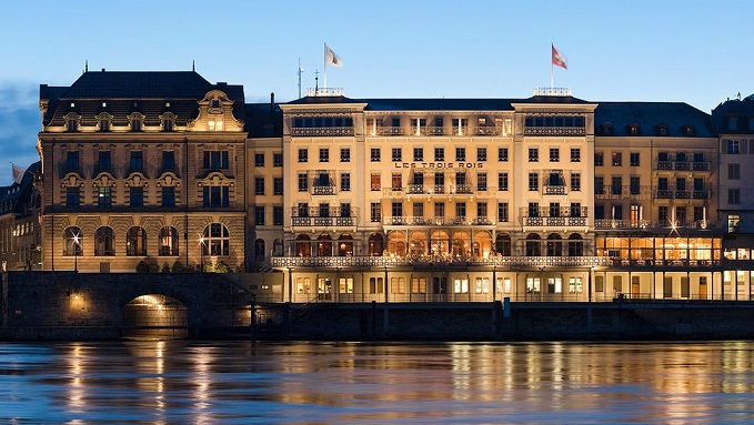 Hot Hotels: Les Trois Rois, Basel