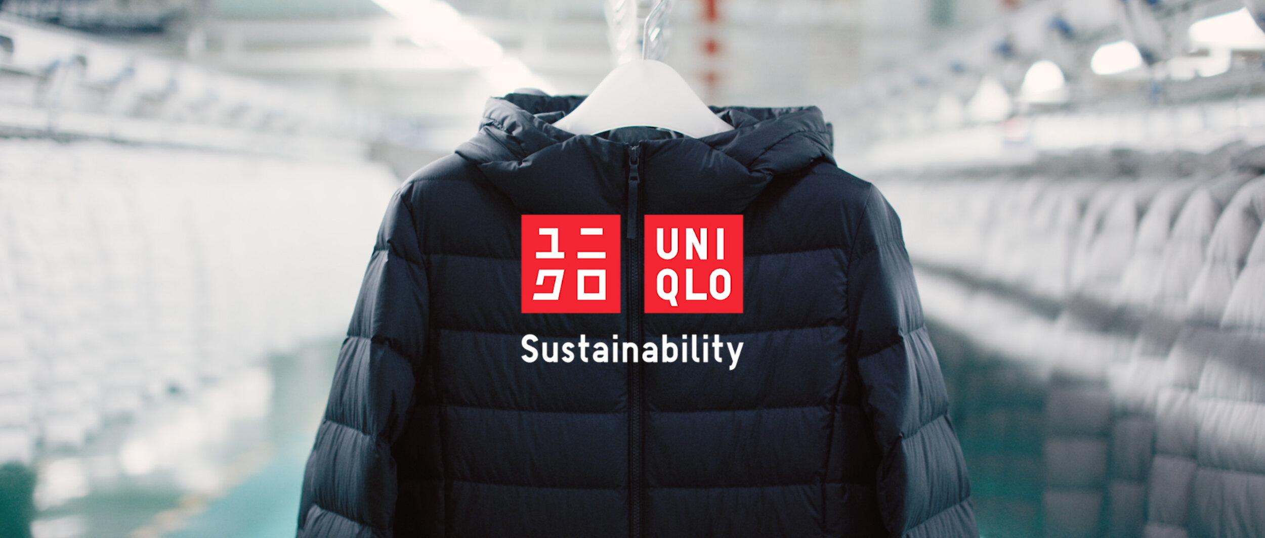 """uniqlo """"sustainability"""""""