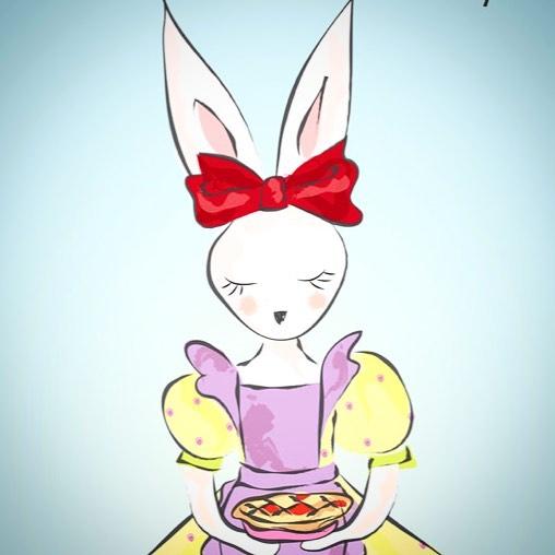 "Happy ""pi"" day  #pieday #314 #piday #pi #bunny"