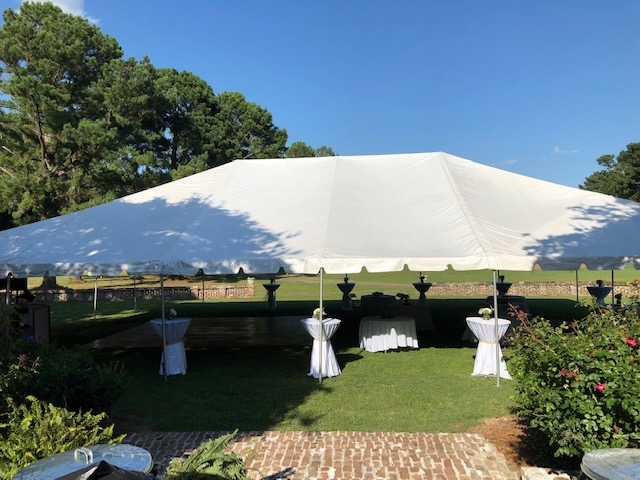 Wedgefield Country Club - wedding tent