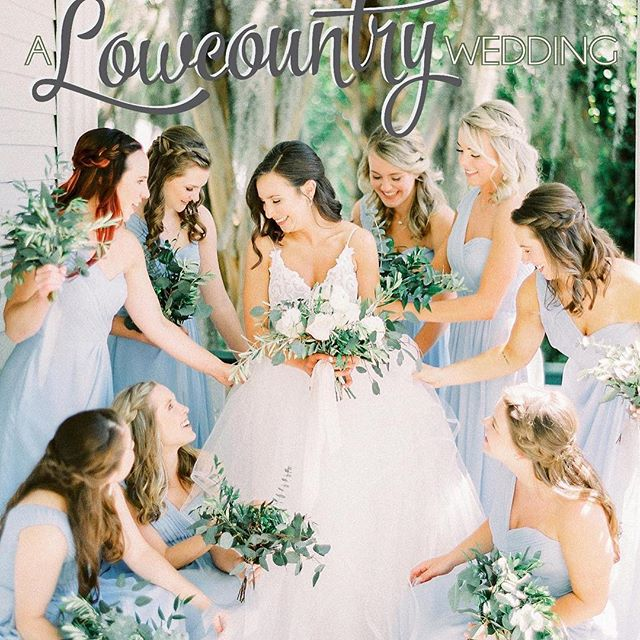 Check out Lowcountry Wedding Magazine launched Monday. Caledonia Weddings is excited to be a part.........twice!! @pasha_belman_photography @sophiebrendlephotography