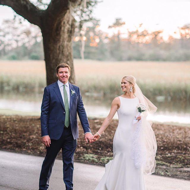 Congratulations to Christie and David!! Another beautiful Caledonia Wedding!! @thedossyflossy @pasha_belman_photography @hobnobentertaining @inletaffairs @eventworksrentals @stoxandco @myiecakes #pawleysisland #pawleysislandwedding #plantationwedding #southernwedding #lowcountryweddings