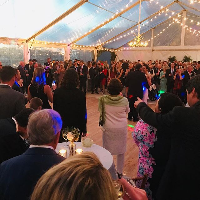 Love was in the air on Saturday at @scmaritimepark for the new Mr. And Mrs. Andy Peace! We appreciate the opportunity to have been a part of their special celebration. #getcarriedawaycatering #southernweddings #pawleysislandcatering