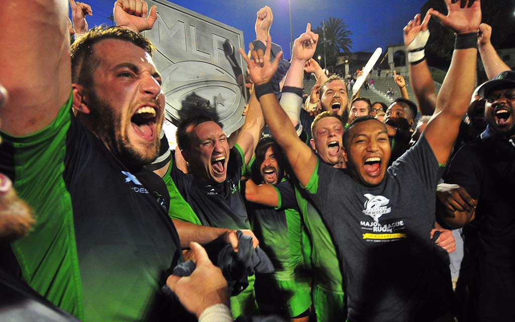 Back to Back winners of the Championship Shield… - Seattle Seawolves amazed the Rugby world and defied the odds, to be crowned Champions, in their very first season of Major League Rugby in 2018. They then became the first professional Seattle sports team since 1934, to successfully defend their Title, by retaining the Shield in the 2nd season of MLR, in 2019.