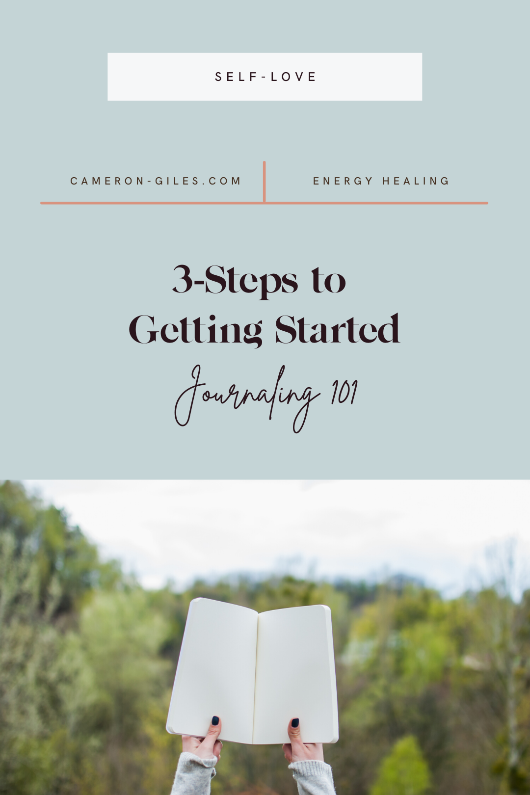 Journaling 101: 3-Steps to getting started
