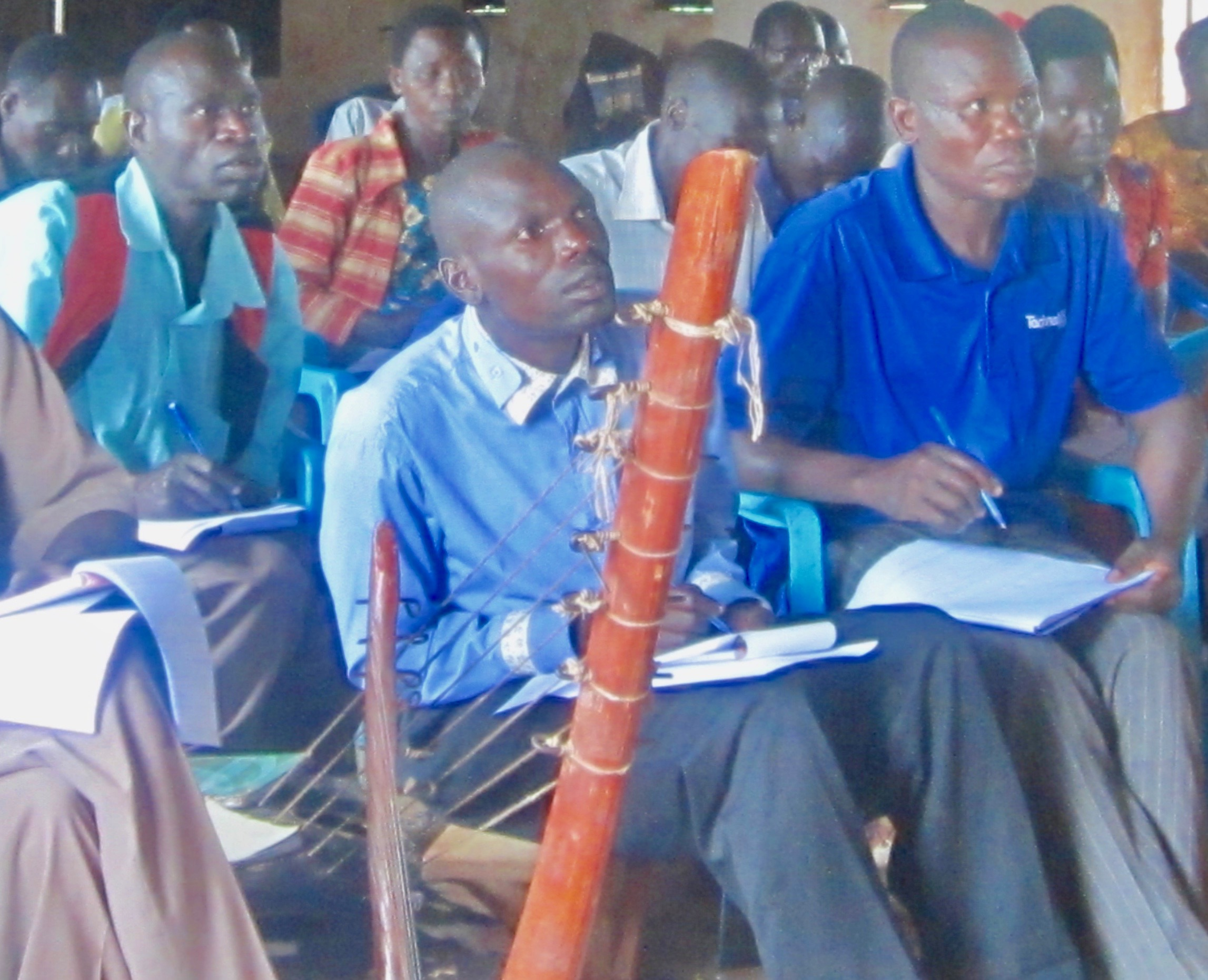 250 pastors and Christian leaders being trained. -