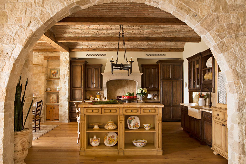 Rustic-Mediterranean-Kitchen-Island-Stone-Barrel-Vaulted-Ceiling-corbin-reeves.jpg