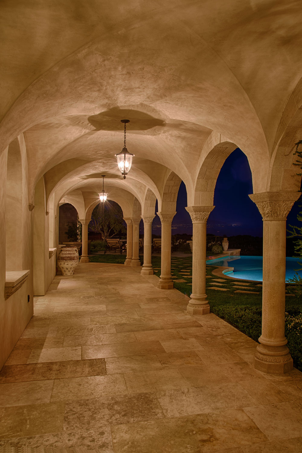 Rear-Patio-Arched-Columns-Cathedral-Ceiling-Contemporary-Mediterranean.jpg