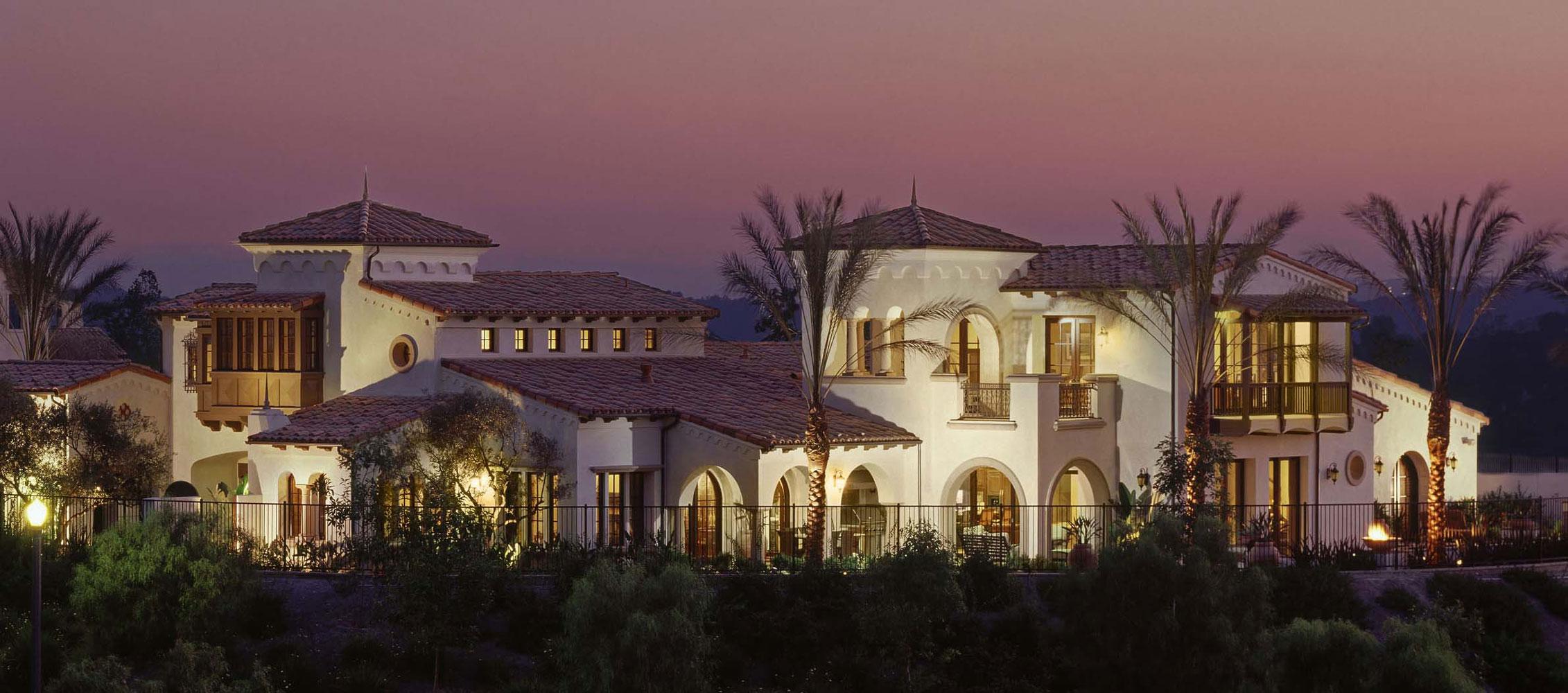 Contemporary-Spanish-Colonial-Exterior-Facade-Dusk-Corbin-Reeves.jpg