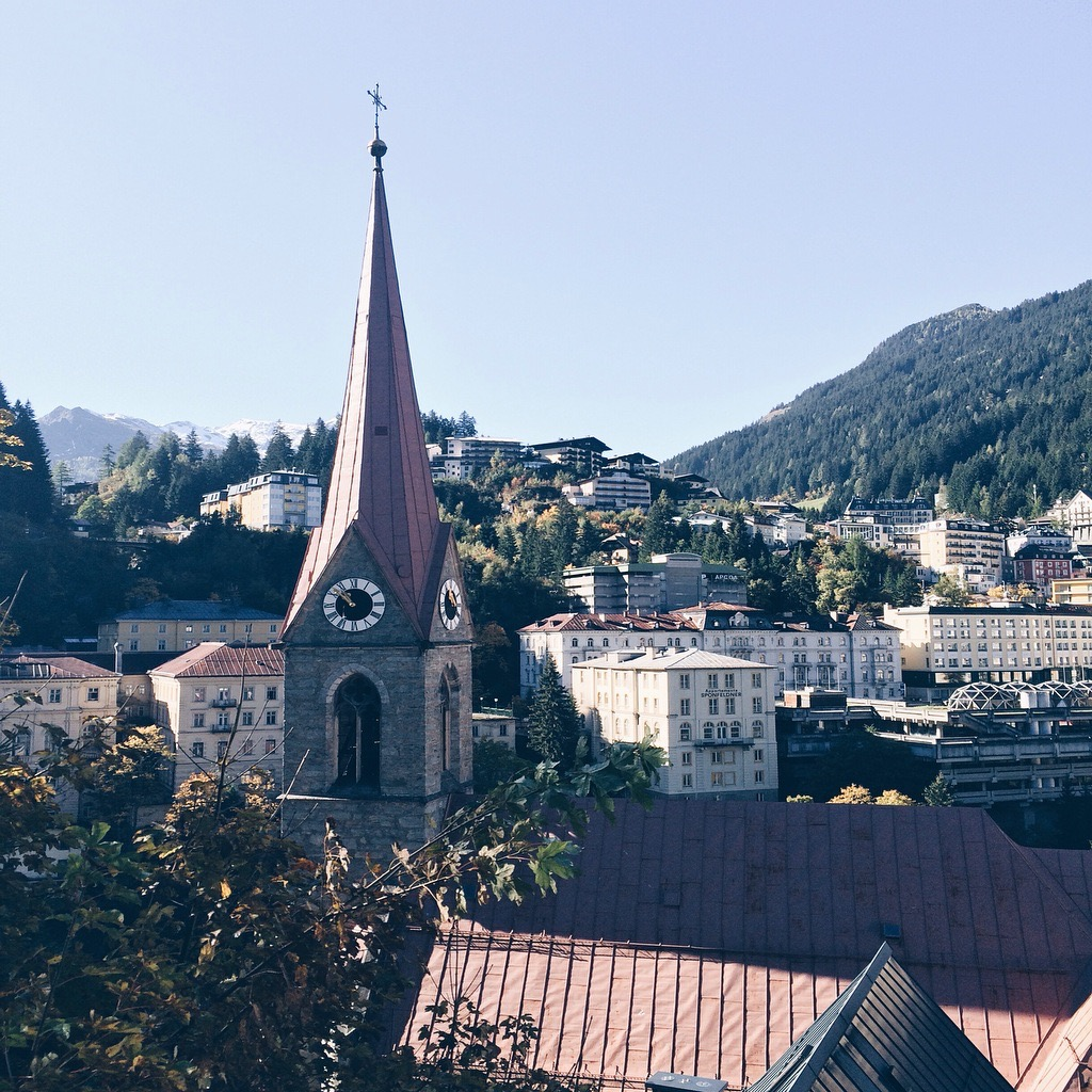 """""""Bad Gastein, the tiny Austrian alpine town to add to your travel radar."""" - GEORGIA HOPKINGS FOR EVENING STANDARD"""
