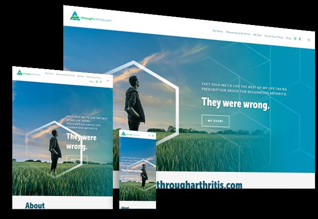 througharthritis.com