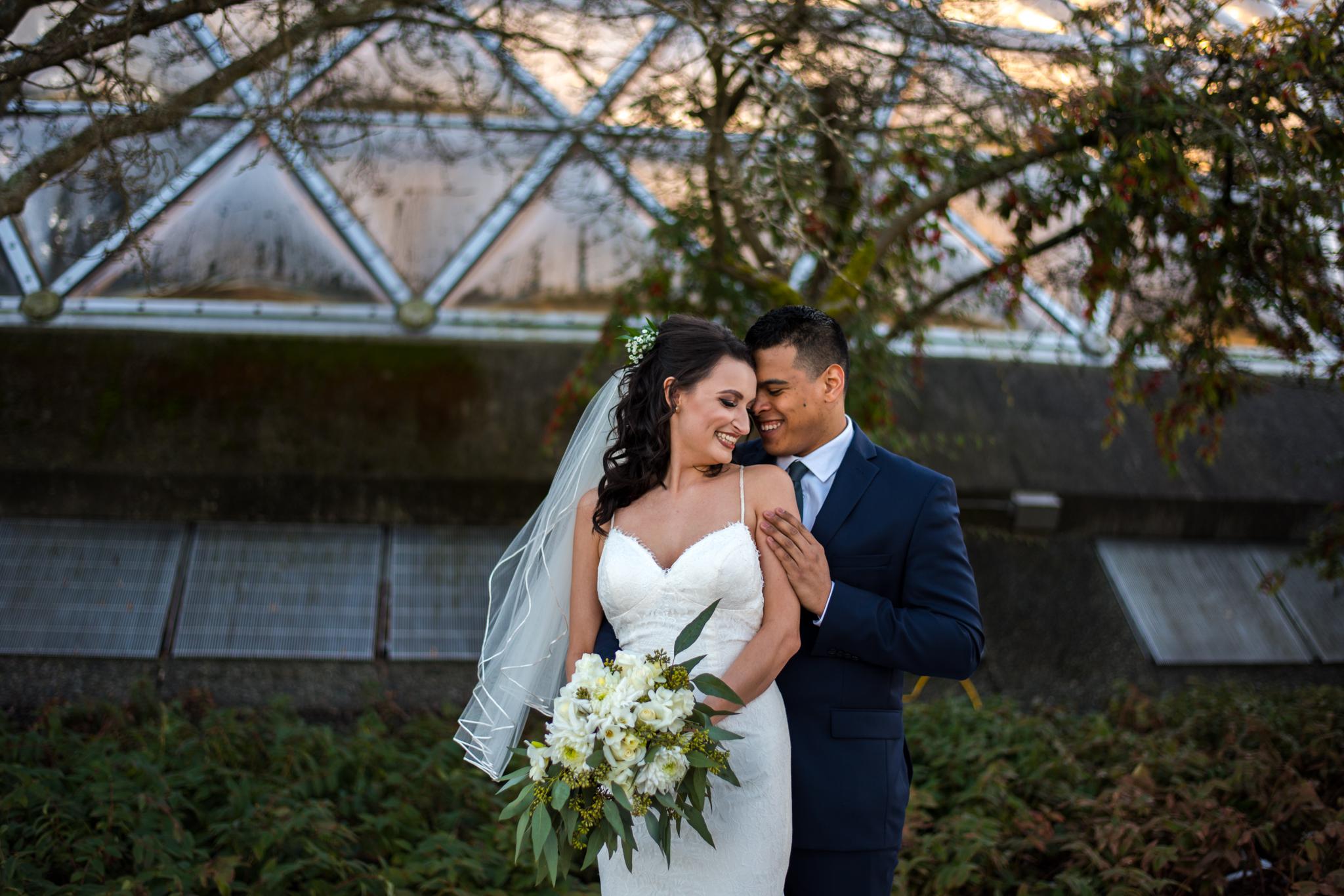 Queen Elizabeth Park Wedding Photos in Vancouver BC