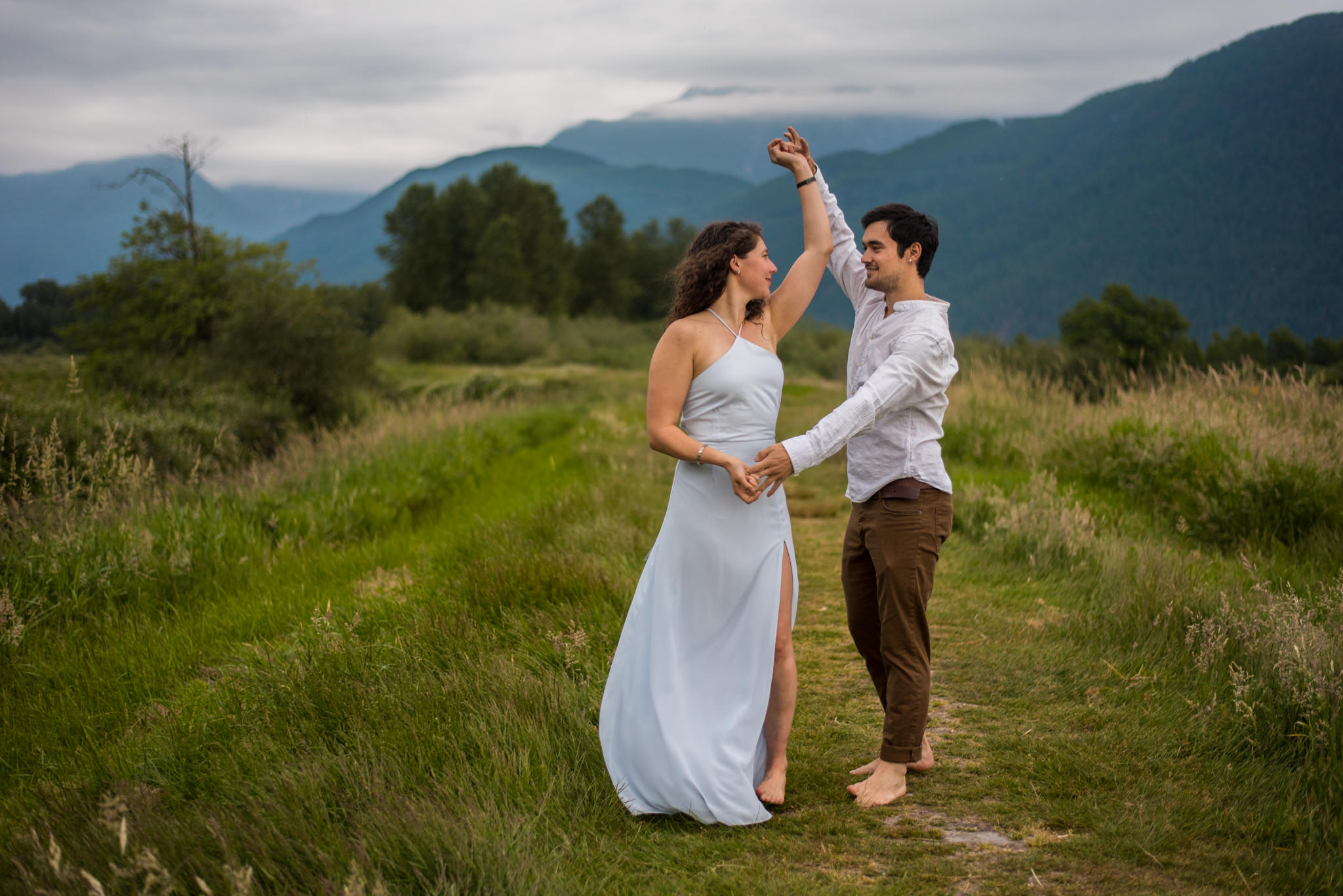 Engagement Session at Pitt Meadows British Columbia
