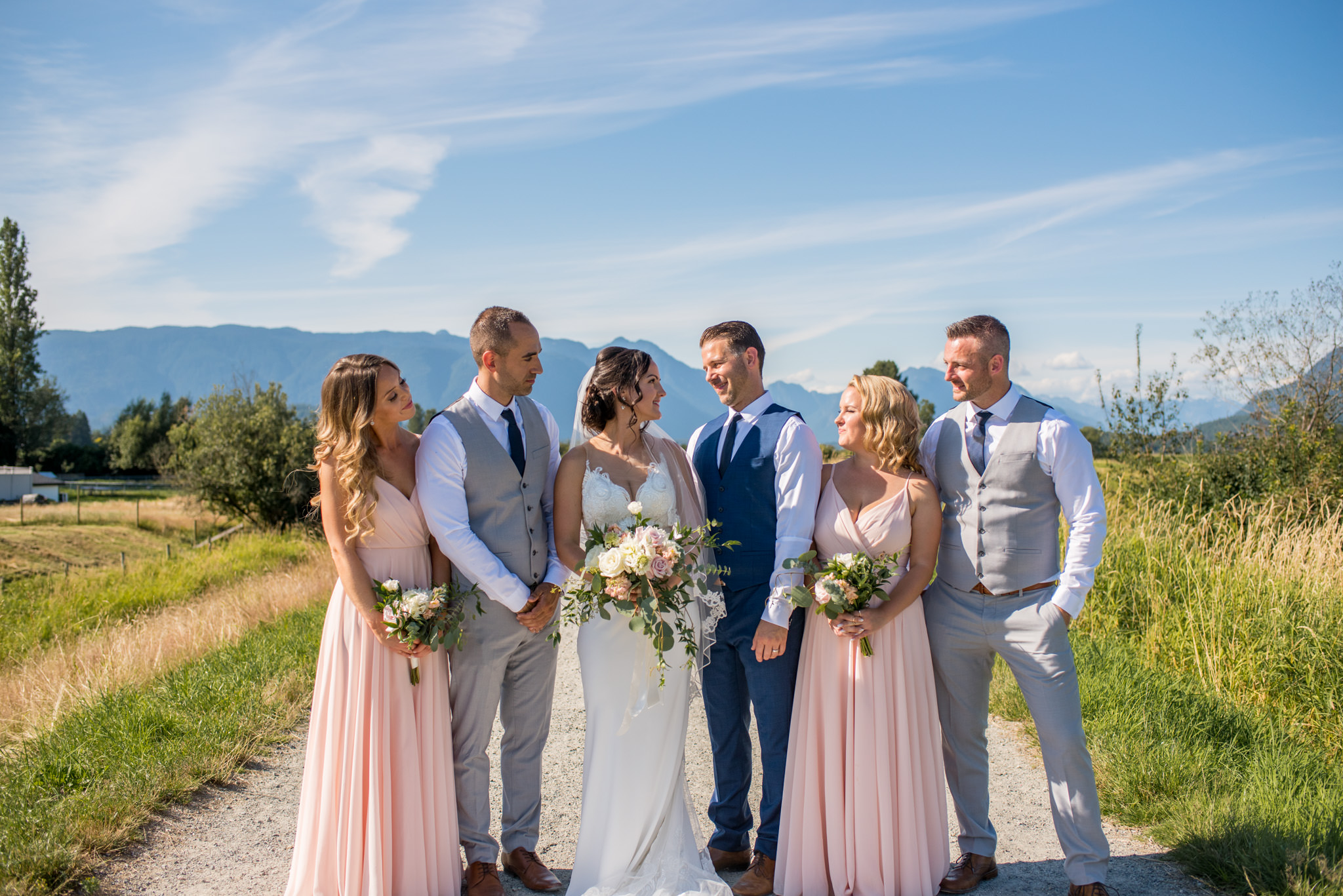 Wedding Party in Maple Ridge BC, Canada