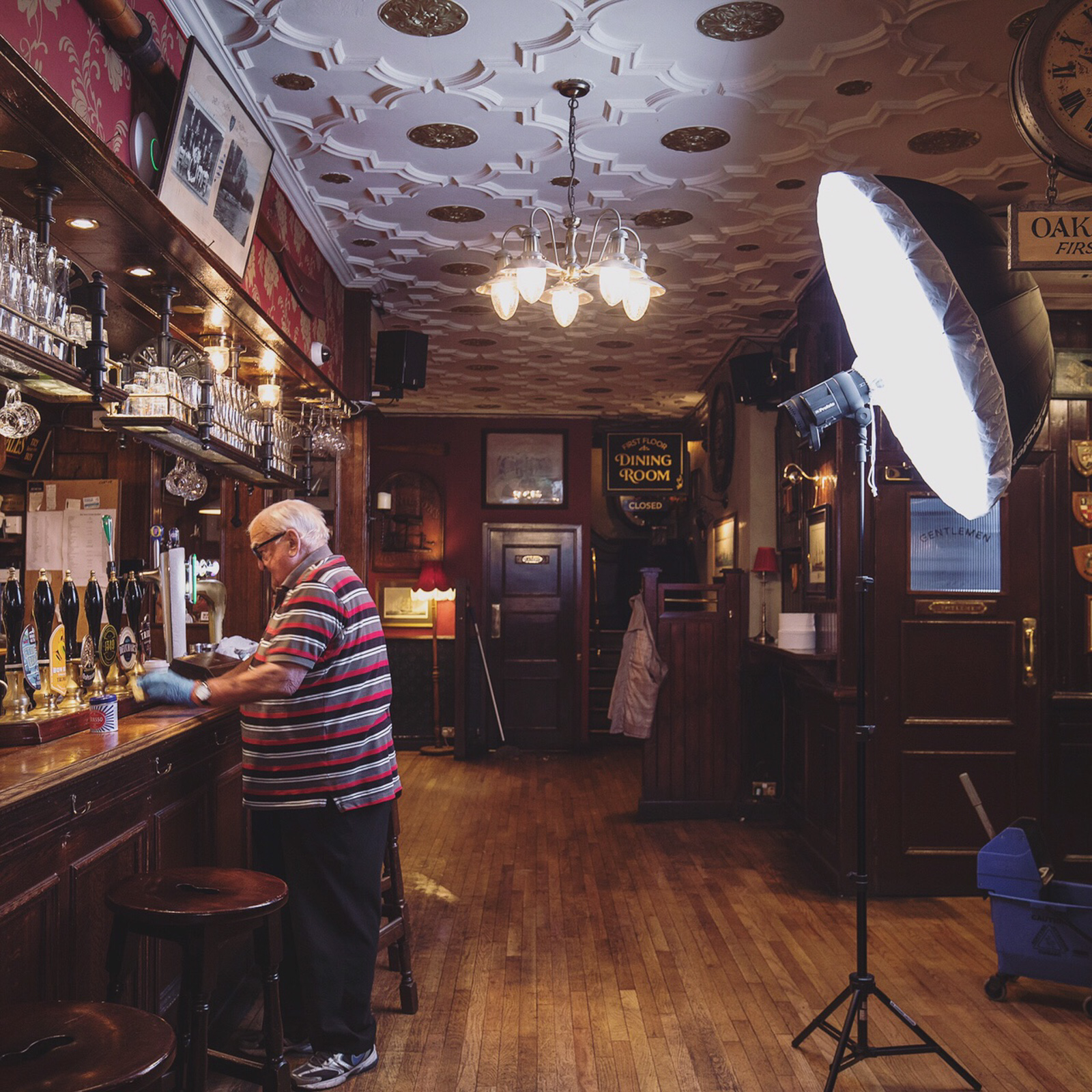 Behind the scenes at the Ship Tavern