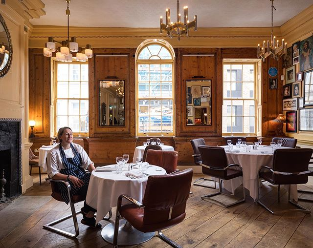 Carolyn started the wonderfully arty @theunionclub in Soho in 1993 with her partner Peter Cross and she's still there as head chef today. Now firmly on the list of London's most well-respected members' clubs, Carolyn tells me that in the beginning 'we didn't expect to be here that long! It was the early '90s, we were out partying every night, but it's been such an evolution'. There was also very little modern technology when the club first opened: 'We didn't even have a till, just a petty cash box, and we had to run the menu off to a hotel on Oxford Street to make photocopies.' There have been three extensions over the years and it now boasts a sunny roof terrace, meeting rooms, restaurant and back bar. More on Carolyn on the website soon!