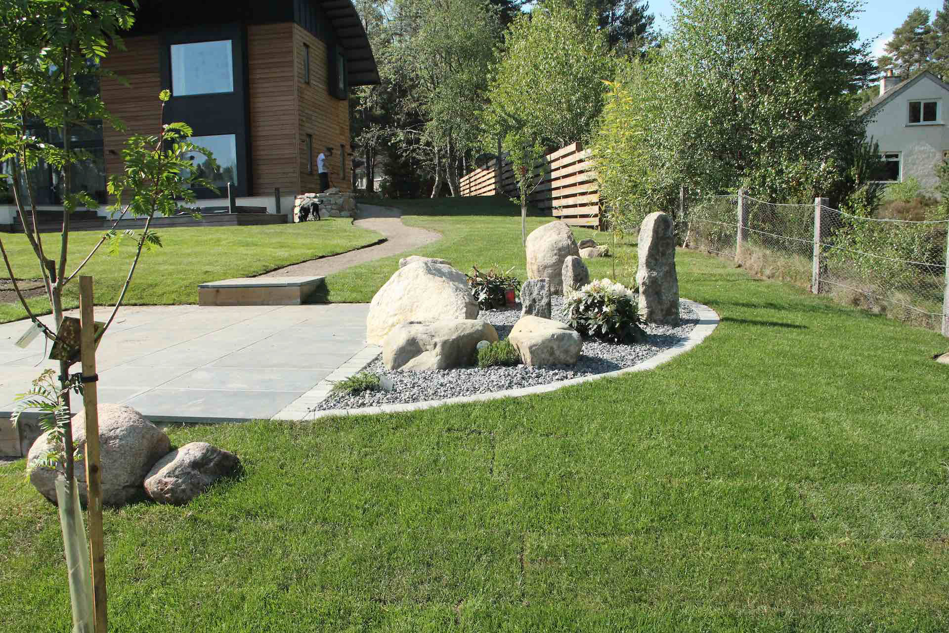 Landscaping and Maintenence servies based in Kingussie