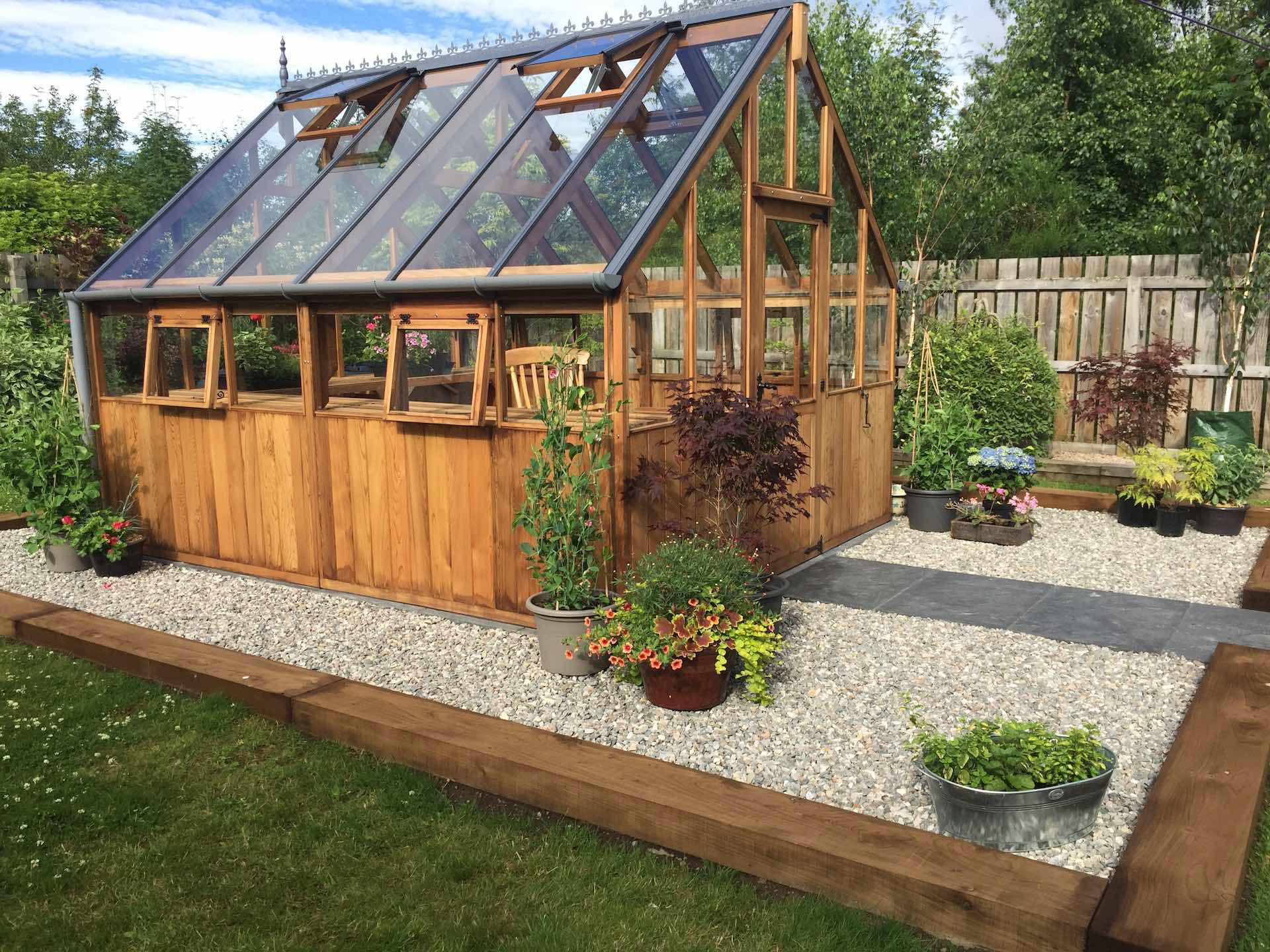 Garden shed construction Highlands