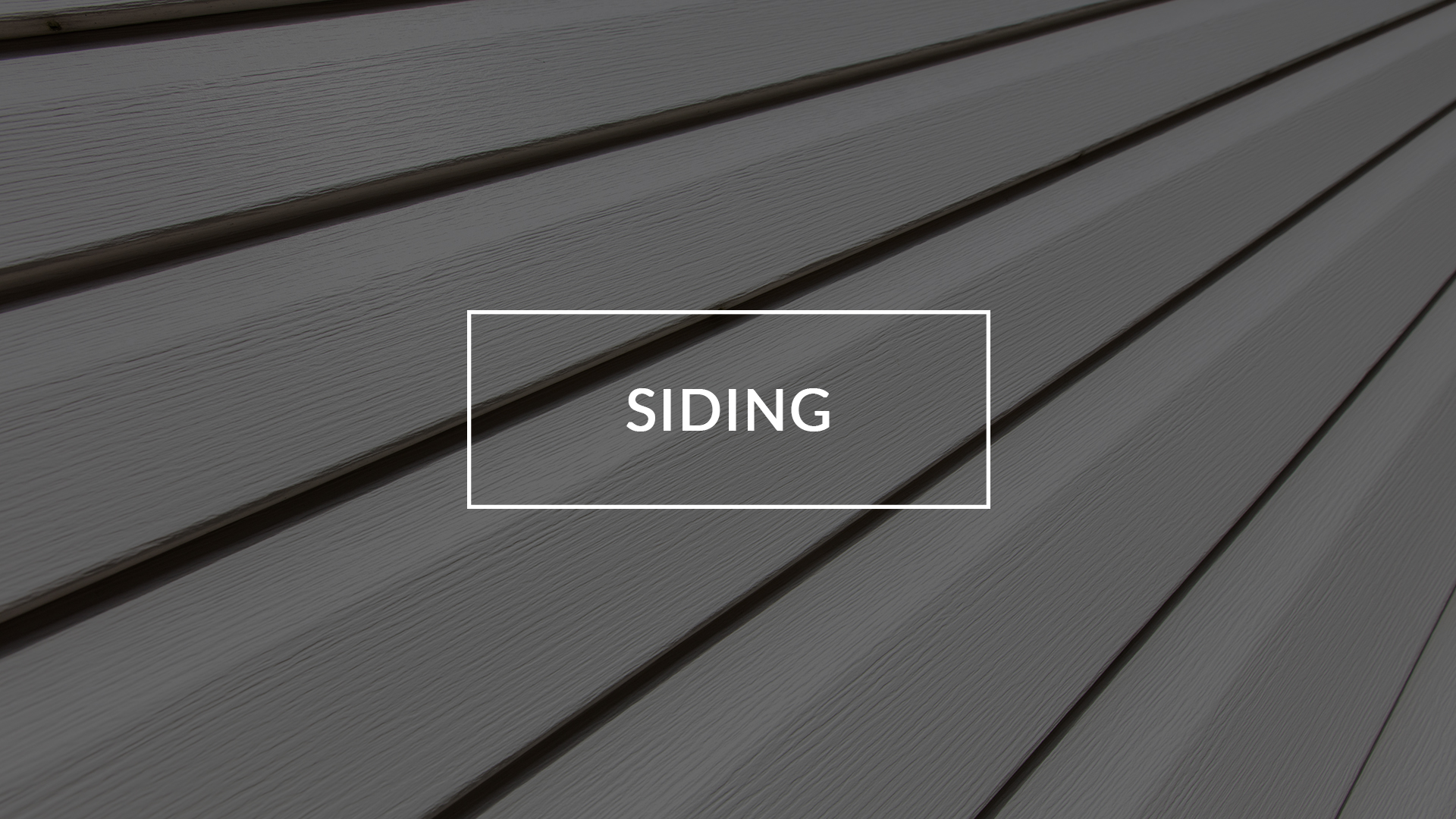 New siding not only gives you a home you can be proud of, but protects It from the elements and enhancements its curb appeal.
