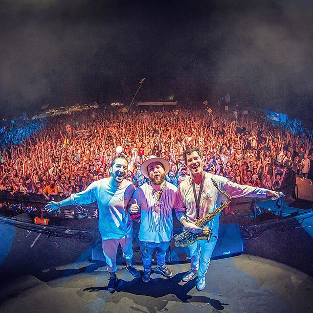Such a great weekend at @summercampfest! Huge thanks to @biggigantic and @bluestraveler for having me up!