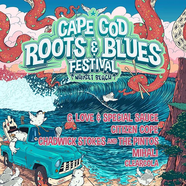 Psyched to be joining all the homies for Cape Cod Roots & Blues Festival at Nauset Beach, Orleans MA on Sept 14th! . 🌞Tickets on sale now! 🌞