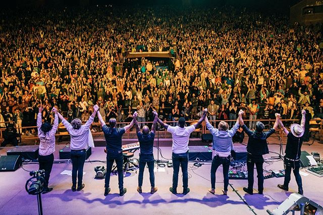 Such an honor to join my brother Nahko and his incredible band for such an unforgettable night at Red Rocks. Truly an inspiration and look forward to playing together for many years to come. THANK YOU ❤️ . 📸 @josue_foto