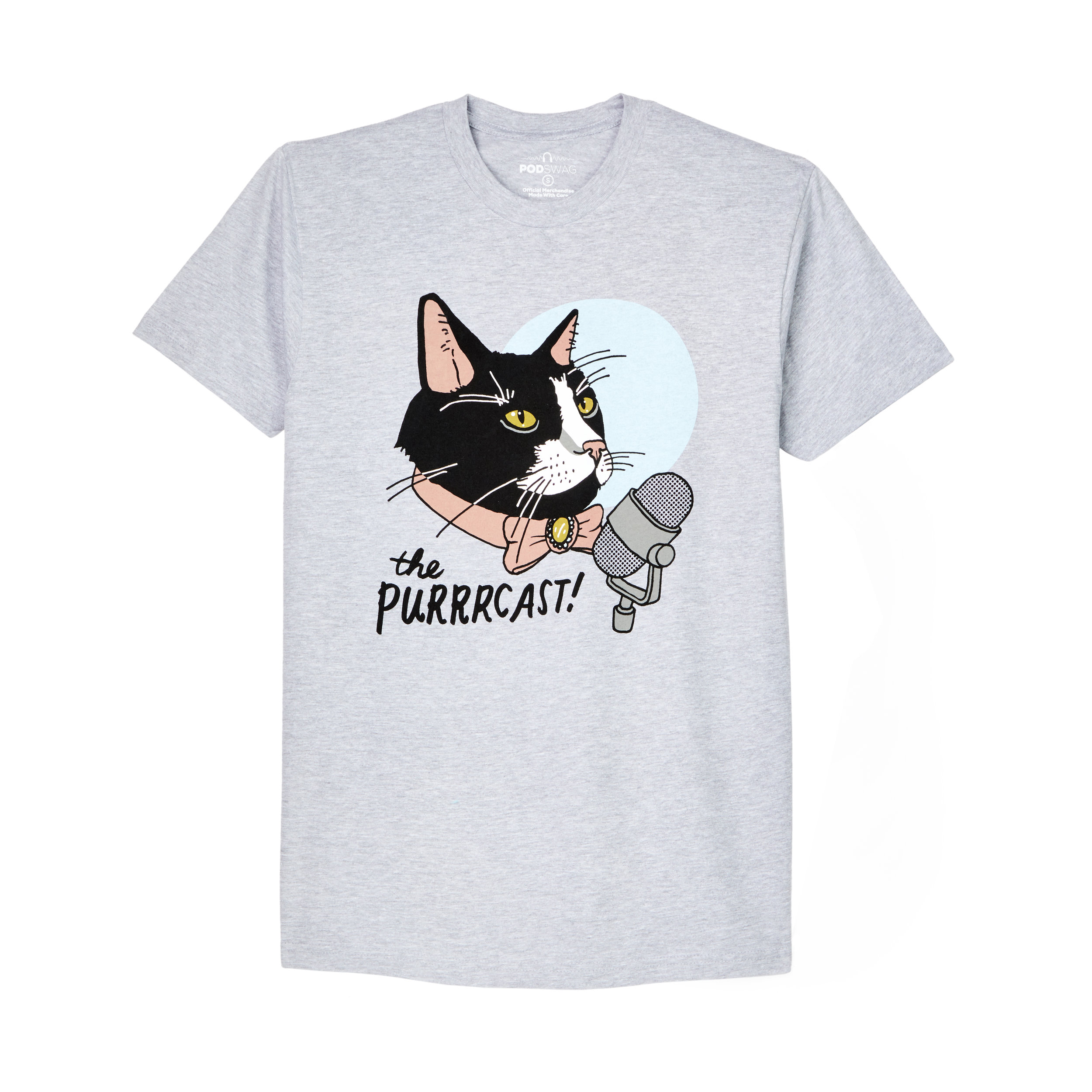 The Purrrcast: T-shirt